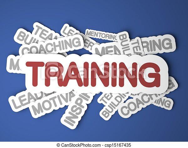 Training Concept. - csp15167435
