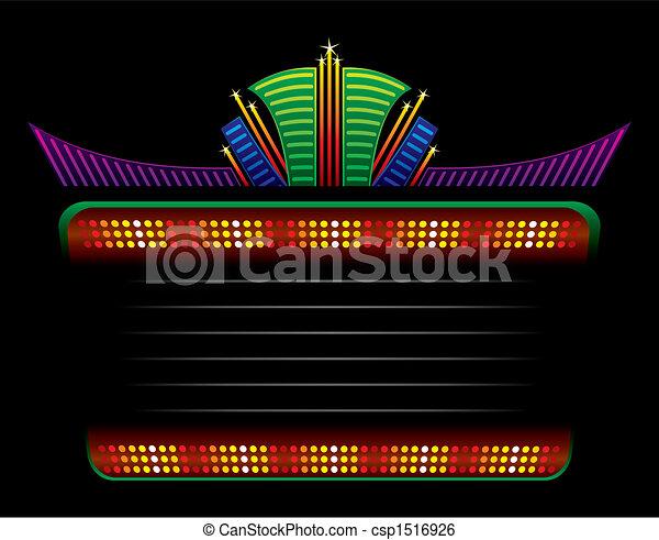 Classic colorful neon - csp1516926