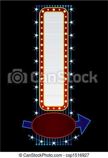 Vertical neon - csp1516927