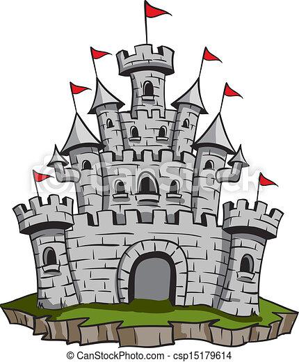Old Castle - csp15179614