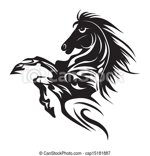 Horse Symbols Drawings Horse Tattoo Symbol For Design