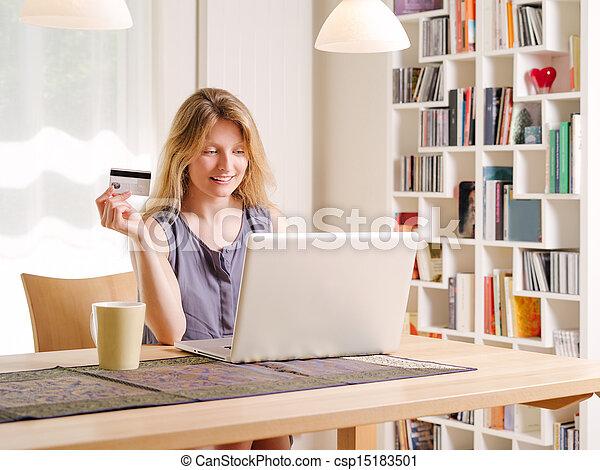 tarjeta de crédito escolta hermoso