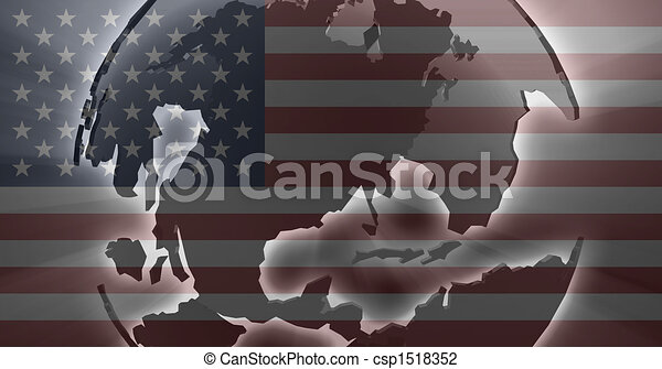 Flag of United States of America - csp1518352