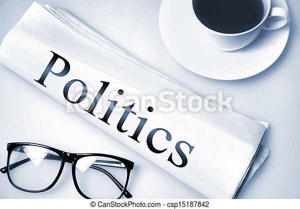 Politics word - csp15187842