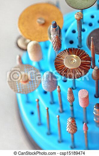 dental technician's tools  - csp15189474
