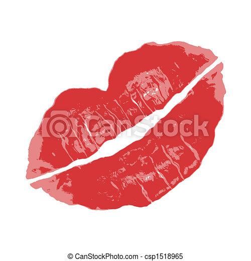 Red Lipstick - csp1518965