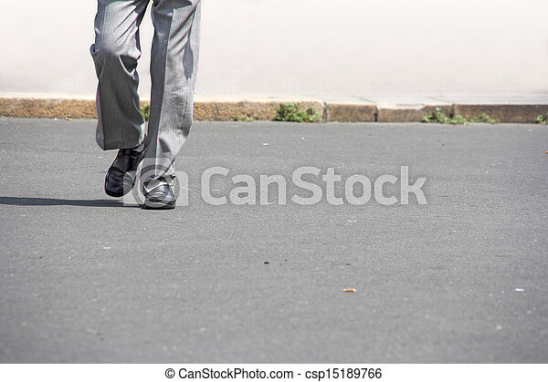 man walking - csp15189766