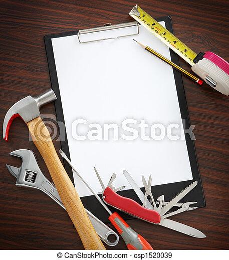 herramientas, él, usted mismo - csp1520039