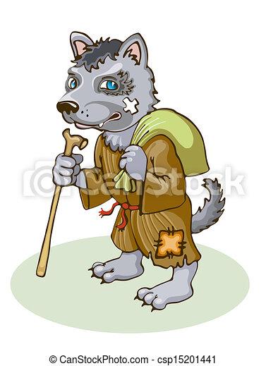 Vector wolf stock illustration royalty free illustrations stock