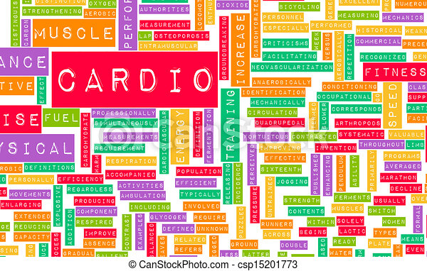 Cardio Workout - csp15201773