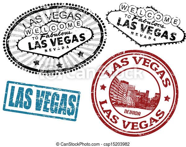 Vetor De Selos Vegas Las Jogo De Stylized Grunge