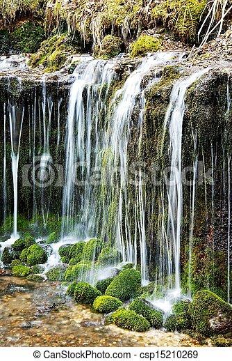 Shiraito Falls, Nagano, Japan - csp15210269