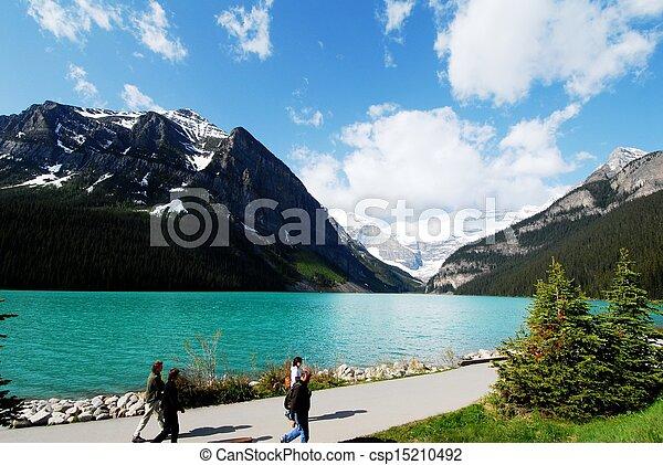 Lake Louise,Canadian Rockies,Canada - csp15210492