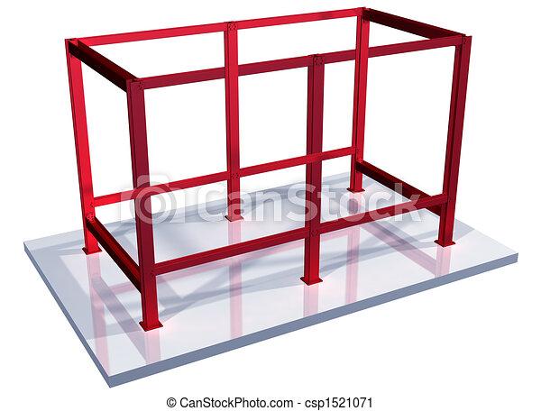 Steel Frame Drawings Impossible Steel Frame