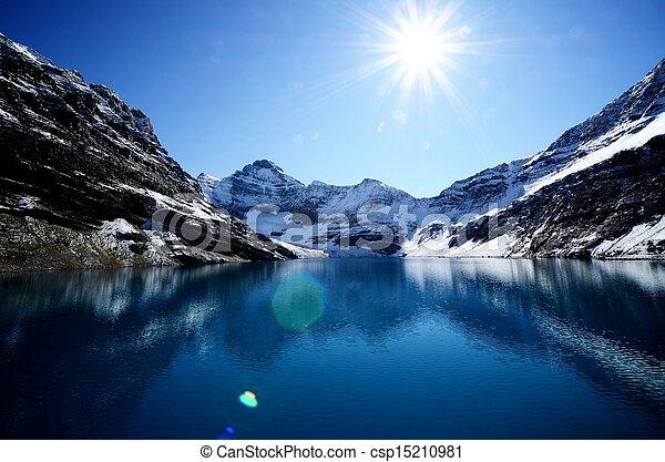 Lake McArthur, Canadian Rockies, Canada - csp15210981