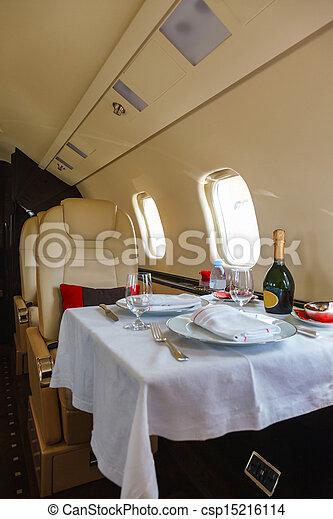 Photo luxe int rieur avion business aviation image for Avion de luxe interieur