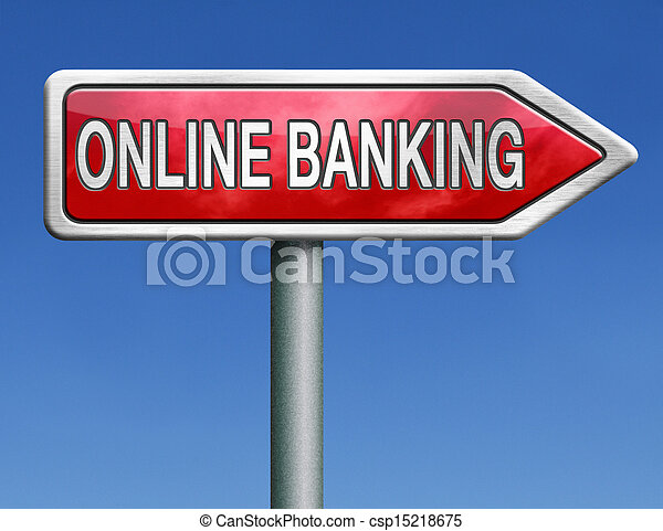 online banking - csp15218675