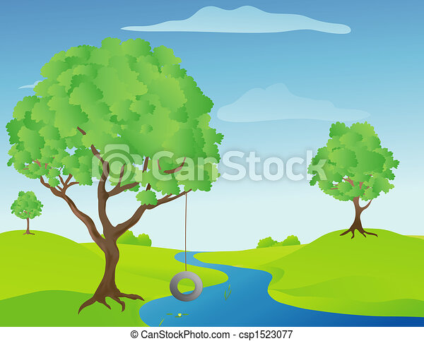 Creek Clipart and Stock Illustrations. 1,076 Creek vector EPS ...