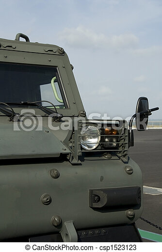 Tracked military vehicle - csp1523123