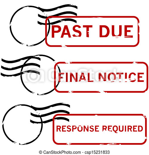 Urgent stamps - csp15231833