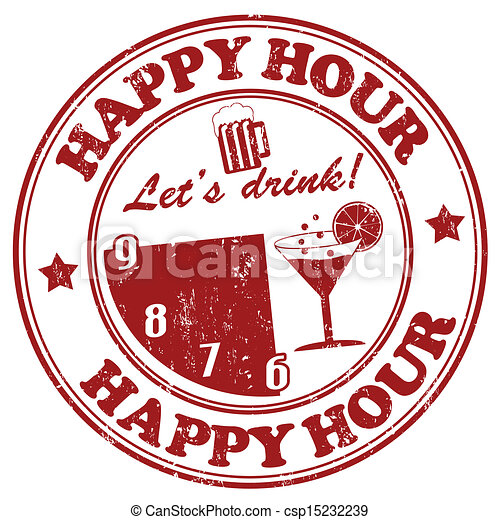Clip Art Happy Hour Clip Art happy hour clip art vector graphics 2334 eps clipart stamp grunge rubber on white
