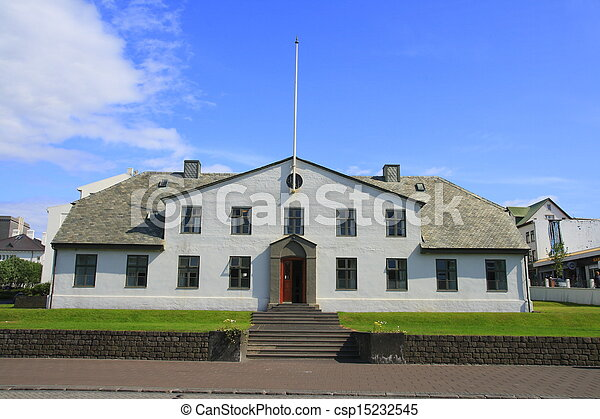 The Icelandic government buildings - csp15232545
