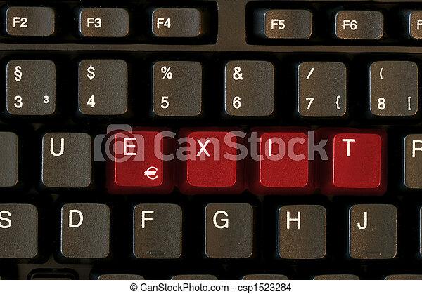 Keyboard EXIT - csp1523284