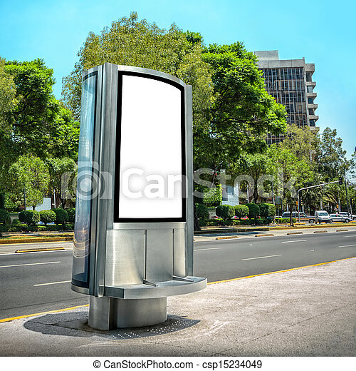 Blank Billboard - csp15234049