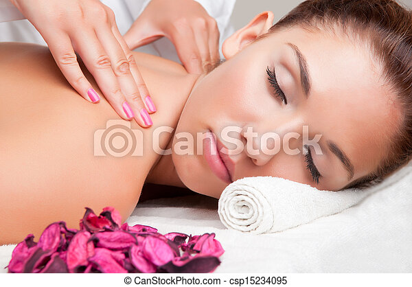 Woman in a Spa - csp15234095