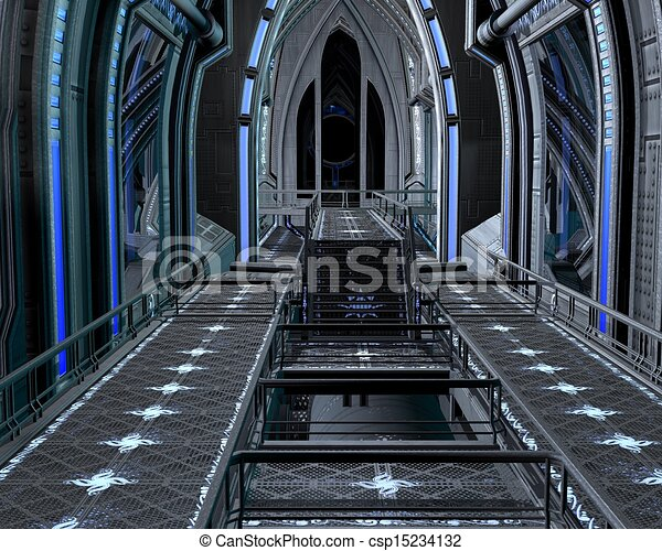 Inside the Space Station - 2 - csp15234132