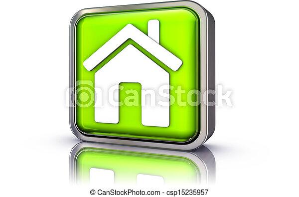 home symbol - csp15235957