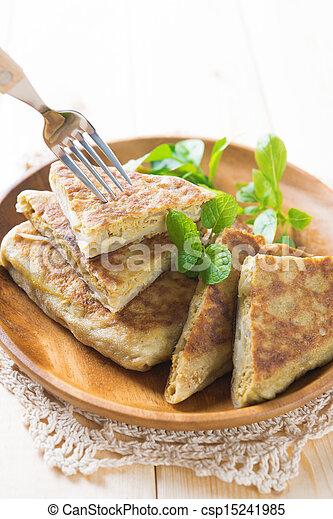 Malaysia muslim food murtabak - csp15241985