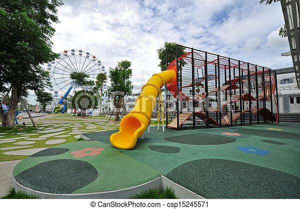 Amusement park - csp15245571
