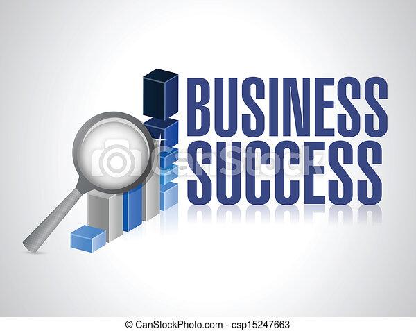 business success under review illustration - csp15247663