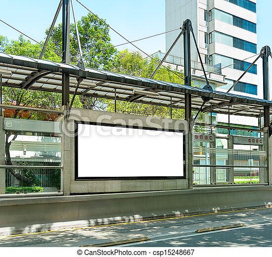 Blank Billboard - csp15248667