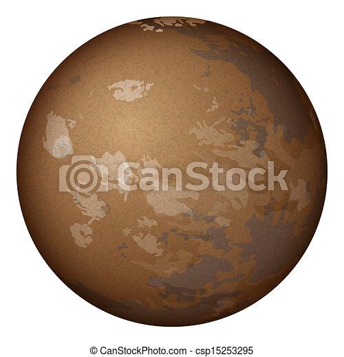 light beige planet mars - photo #20