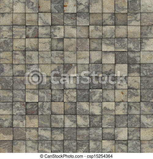 Stock Illustration Of Mosaic Tile Speckled Beige Gray Wall
