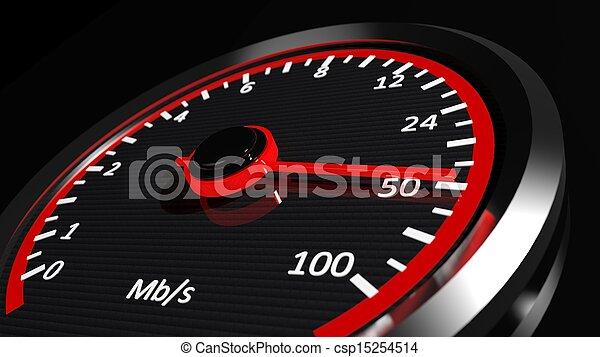 Internet speed  - csp15254514