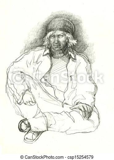 comment dessiner un gangster