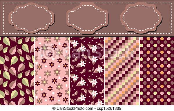 Scrapbook backgrounds - csp15261389
