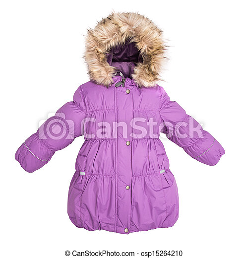 Women winter jacket - csp15264210