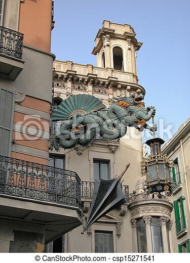 Stock de fotos de arte deco barcelona drag n arte - Art deco barcelona ...