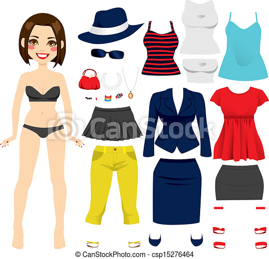 paper doll clothing