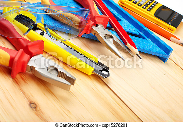 Construction tools. - csp15278201