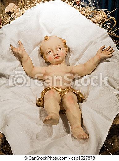 Baroque Bethlehem in Prague - csp1527878