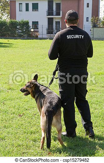 sicurezza, guardia - csp15279482