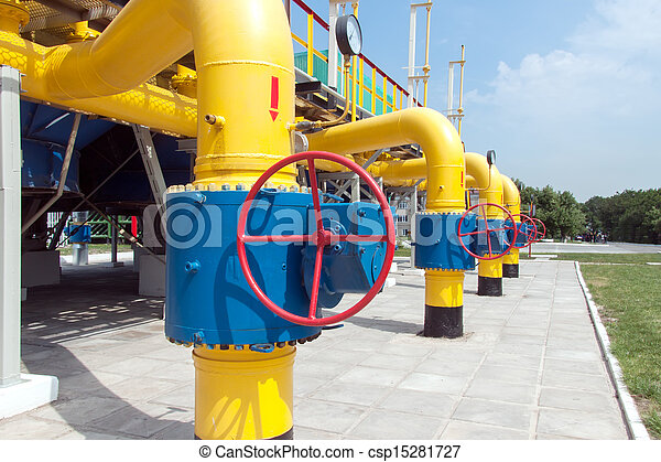 Gas compressor station - csp15281727