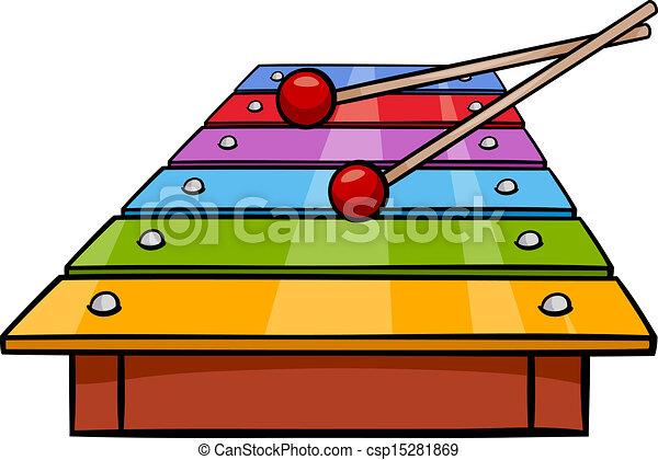 Xylophone Cartoon