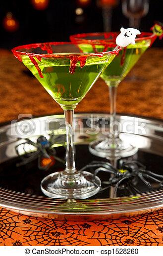 Halloween drink - csp1528260