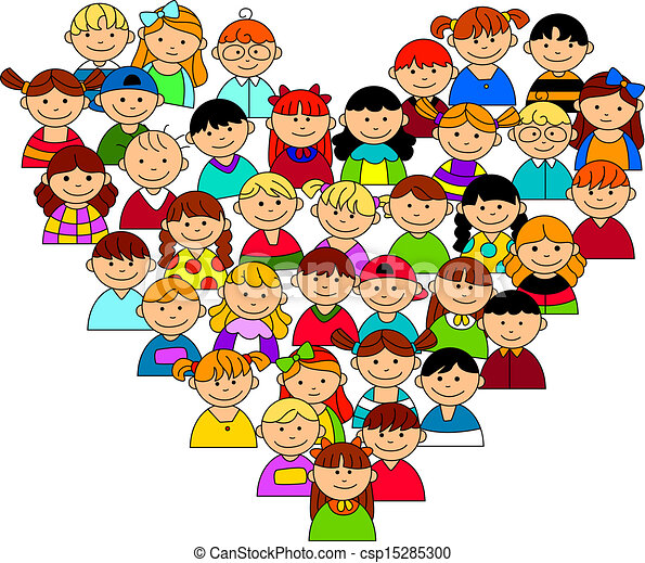 Boys and girls Stock Illustration Images. 103,317 Boys and girls ...